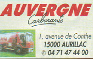 AUVERGNE CARBURANTS